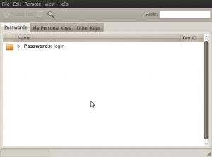 Screenshot-Passwords and Encryption Keys