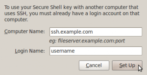 Screenshot-Set Up Computer for SSH Connection